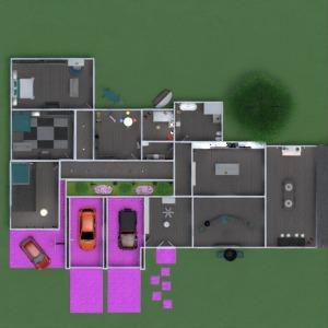 floorplans maison meubles décoration salle de bains chambre à coucher salon garage cuisine extérieur chambre d'enfant bureau eclairage maison salle à manger entrée 3d