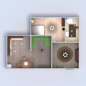 floorplans mieszkanie wystrój wnętrz zrób to sam łazienka sypialnia pokój dzienny kuchnia remont jadalnia wejście 3d