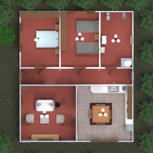 floorplans dormitorio salón cocina exterior habitación infantil paisaje 3d