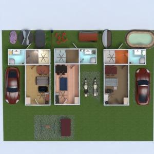 floorplans apartment outdoor architecture 3d