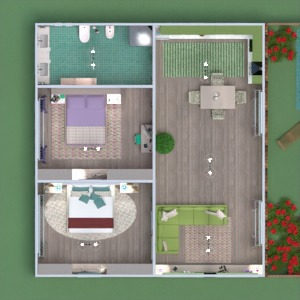 floorplans house furniture decor bathroom bedroom living room kitchen outdoor lighting household dining room entryway 3d