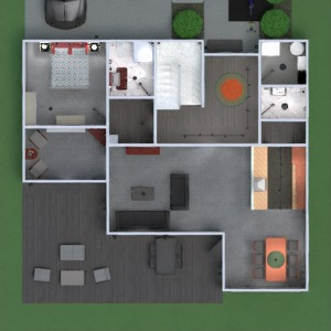 floorplans apartment house terrace furniture bathroom bedroom living room kitchen outdoor kids room lighting dining room architecture entryway 3d