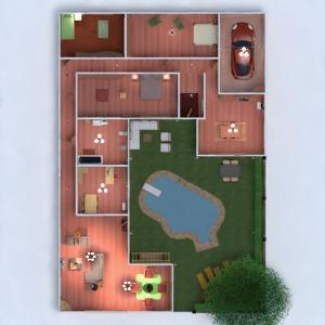 floorplans casa muebles decoración cuarto de baño dormitorio salón garaje cocina exterior habitación infantil despacho iluminación descansillo 3d