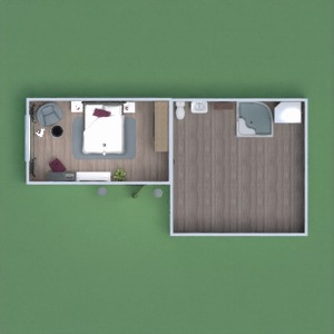 floorplans furniture decor bathroom bedroom 3d
