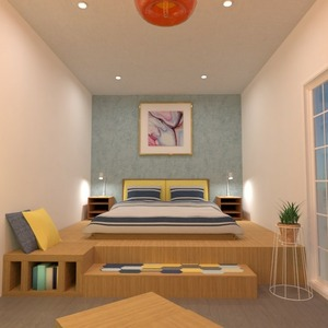 floorplans decor bedroom lighting 3d