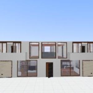 floorplans house terrace furniture decor bathroom bedroom garage kitchen lighting entryway 3d