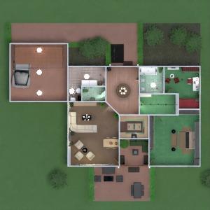 floorplans butas namas terasa vonia miegamasis svetainė garažas virtuvė eksterjeras vaikų kambarys apšvietimas valgomasis аrchitektūra prieškambaris 3d