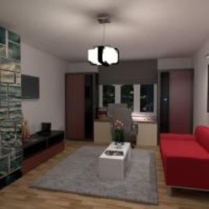 floorplans mieszkanie sypialnia pokój dzienny pokój diecięcy biuro przechowywanie 3d