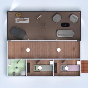 floorplans casa varanda inferior mobílias decoração faça você mesmo quarto garagem cozinha área externa iluminação paisagismo sala de jantar arquitetura patamar 3d