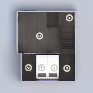 planos dormitorio salón 3d