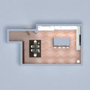 floorplans appartement maison cuisine maison salle à manger 3d