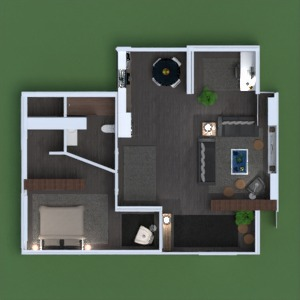 floorplans apartment kitchen 3d