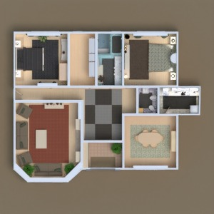floorplans haus terrasse mobiliar dekor do-it-yourself wohnzimmer 3d