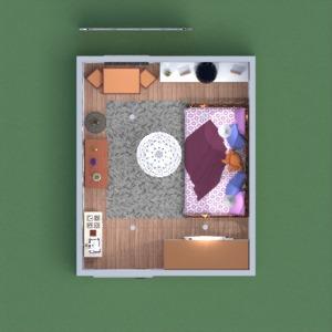 floorplans house furniture decor kids room 3d