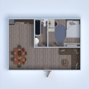floorplans wohnung badezimmer schlafzimmer küche 3d
