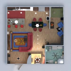 planos apartamento muebles decoración dormitorio salón cocina despacho reforma hogar arquitectura estudio descansillo 3d