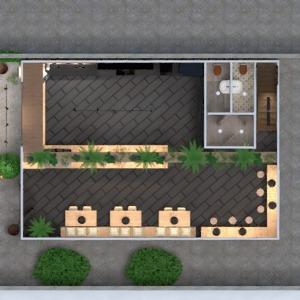 floorplans meubles décoration eclairage rénovation café 3d