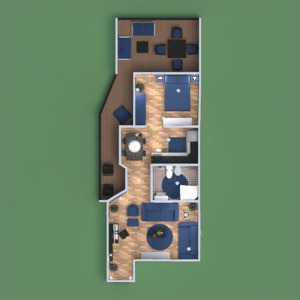 floorplans appartamento cameretta vano scale 3d