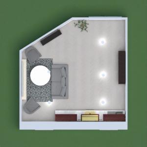 floorplans svetainė virtuvė 3d