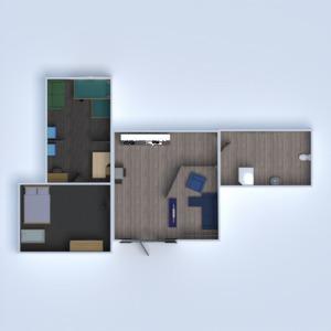 планировки ванная гостиная кухня детская столовая 3d