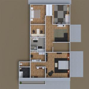 floorplans dom wystrój wnętrz łazienka kuchnia 3d