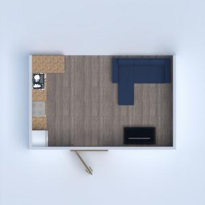 floorplans przechowywanie mieszkanie typu studio 3d