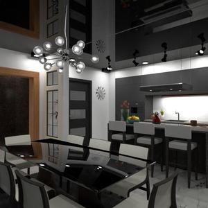 floorplans apartment kitchen dining room 3d