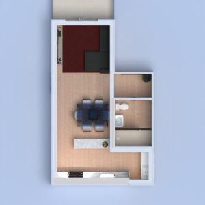 planos apartamento terraza muebles decoración cuarto de baño cocina iluminación paisaje hogar comedor arquitectura estudio descansillo 3d