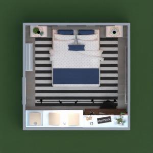 floorplans butas namas baldai miegamasis 3d
