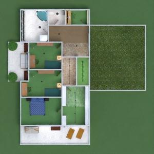 planos apartamento casa terraza cuarto de baño dormitorio salón garaje cocina exterior habitación infantil iluminación comedor arquitectura 3d