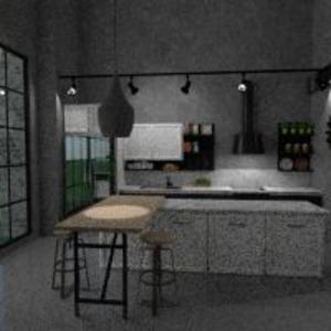 floorplans furniture decor living room kitchen 3d