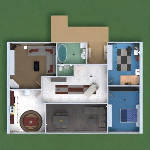 floorplans apartment house terrace furniture decor bathroom bedroom living room kitchen outdoor kids room lighting household dining room architecture storage studio entryway 3d