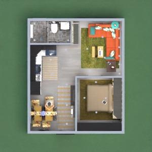 floorplans mieszkanie wystrój wnętrz łazienka sypialnia pokój dzienny 3d