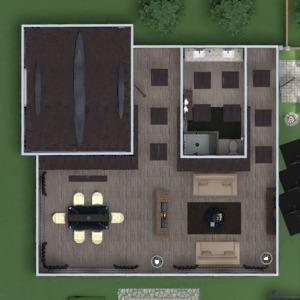floorplans namas dekoras vonia miegamasis svetainė virtuvė eksterjeras apšvietimas renovacija kraštovaizdis sandėliukas studija 3d