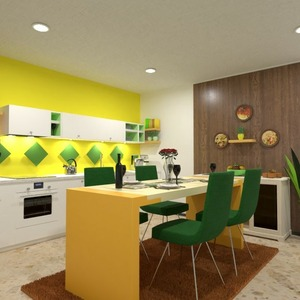 floorplans decor kitchen 3d