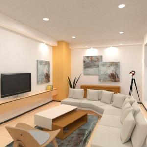 planos decoración salón iluminación 3d