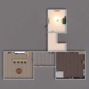 floorplans house furniture decor bedroom living room 3d