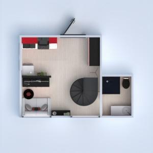 floorplans apartment bathroom bedroom living room kitchen 3d