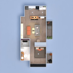 floorplans apartment furniture decor 3d