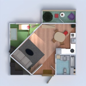 floorplans appartement rénovation studio 3d