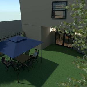 floorplans house living room kitchen outdoor architecture 3d