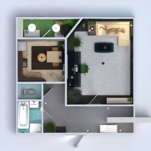 floorplans appartement 3d