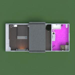 floorplans maison meubles décoration salle de bains chambre à coucher bureau eclairage 3d