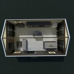 floorplans house furniture living room kitchen 3d