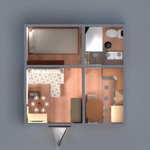 floorplans wohnung mobiliar dekor do-it-yourself badezimmer schlafzimmer wohnzimmer küche studio 3d