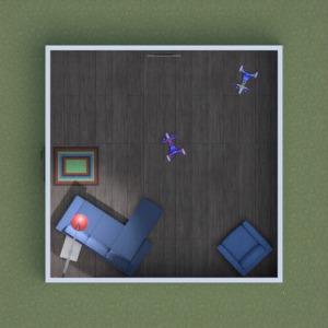 floorplans meubles chambre d'enfant eclairage 3d