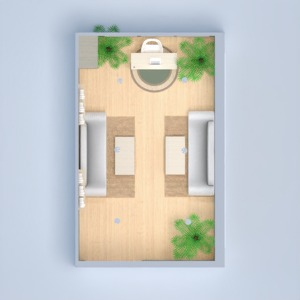 planos salón despacho 3d