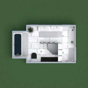 floorplans salle de bains 3d