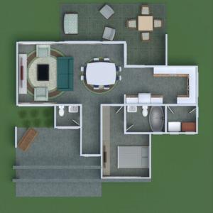 floorplans haus mobiliar do-it-yourself schlafzimmer garage küche café esszimmer architektur 3d