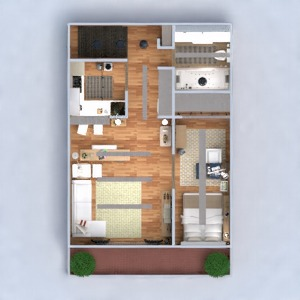 floorplans apartment furniture decor bathroom bedroom living room kitchen lighting dining room architecture studio entryway 3d